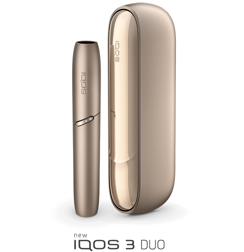 IQOS 3 Duo product and logo