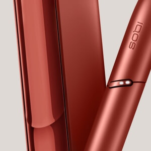 IQOS 3 DUO holder och pocket charger limited edition copper